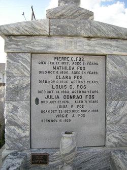 Julia <I>Conrad</I> Fos