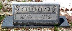 Ada <I>Foard</I> Cunningham