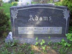 Beatrice H Adams