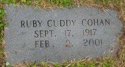 Ruby <I>Cuddy</I> Cohan