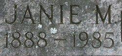 Janie M. Barnes