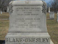 Josephine <I>Chesley</I> Blake