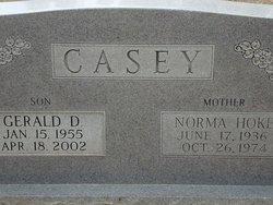 Gerald D Casey