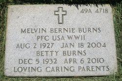 Melvin Bernie Burns