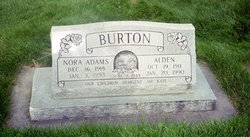 Nora <I>Adams</I> Burton