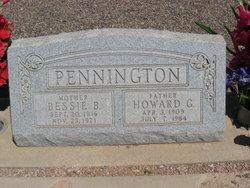 Bessie Belle <I>Coffey</I> Pennington