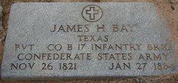 Pvt James H Bay, Sr