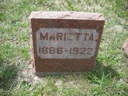 Marietta <I>Adams</I> Willits