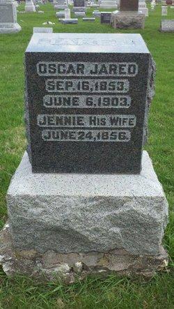 "Eugenia Lois ""Jennie"" <I>Downes</I> Jared"