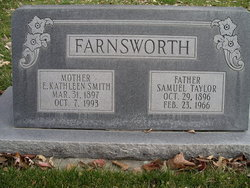 Elise Kathleen <I>Smith</I> Farnsworth