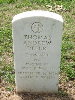 Thomas Andrew Defur