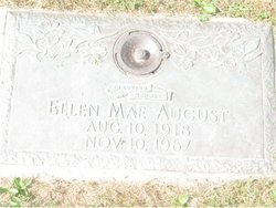 Ellen Mae <I>Allison</I> August