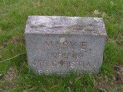 Mary Ethel <I>Kuehn</I> Christian