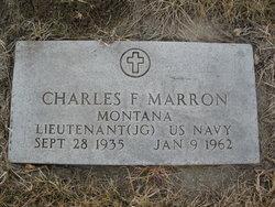 LTJG Charles F Marron