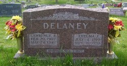 Thelma June <I>Seymour</I> DeLaney