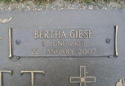 "Bertha ""Hunsie"" <I>Giese</I> Abbott"