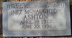 Inez <I>McNaughton</I> Ashton