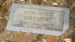 Lucille <I>Pickett</I> Davenport