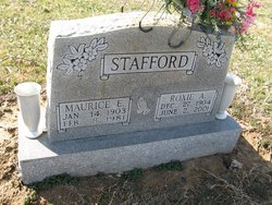 Roxie Ann <I>Harrell</I> Stafford