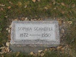 Sophia <I>Drefs</I> Schaefer
