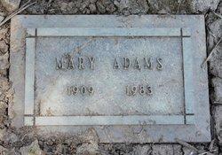 Mary <I>Vescio</I> Adams