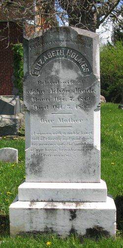 Elizabeth <I>Holmes</I> Meade