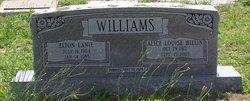 Alice Louise <I>Hillin</I> Williams