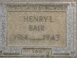 SSGT Henry L Bair