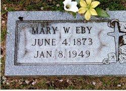 Mary Winifred <I>Michaels</I> Eby