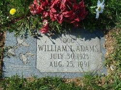 """William L """"Doc"""" Adams"""