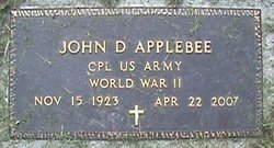 John Donald Applebee