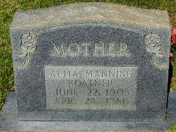 Alma <I>Manning</I> Boatner