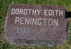 Dorothy Edith Penington