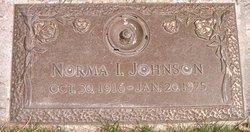 Norma Irene <I>Dopp</I> Johnson