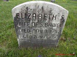 Elizabeth S <I>Zook</I> Bawel