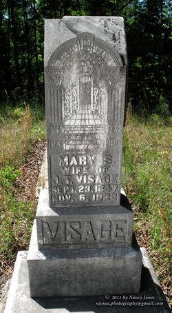 Mary S. <I>Collum</I> Visage