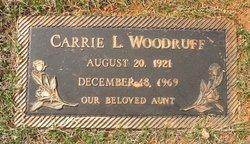 Carrie L Woodruff