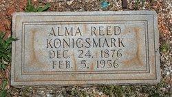 Alma <I>Reed</I> Konigsmark