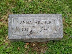 Anna <I>Lattimer</I> Archer