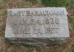 Mary <I>Battin</I> Barackman