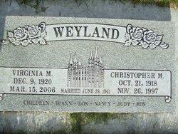 Christopher Mayland Weyland
