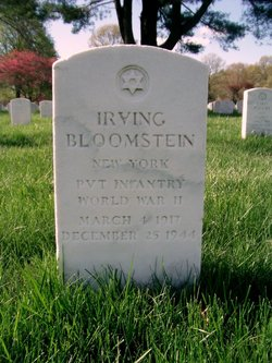 Pvt Irving Bloomstein