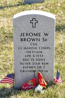 Col Jerome William Brown, Sr