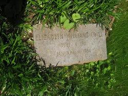 Elizabeth <I>Williams</I> Covel