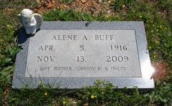 Alene A. <I>Anderson</I> Buff