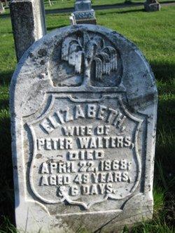 Elizabeth <I>Weaver</I> Walters