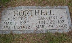 Caroline <I>Adams</I> Corthell