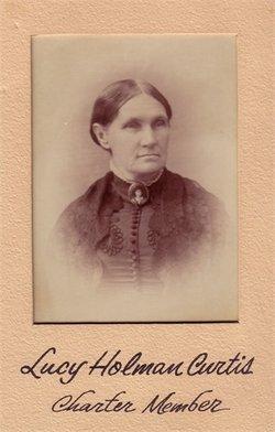 Lucy Mildred <I>Holman</I> Curtis