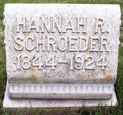 Hannah R <I>McCallum</I> Schroeder