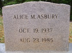 Alice M. Asbury